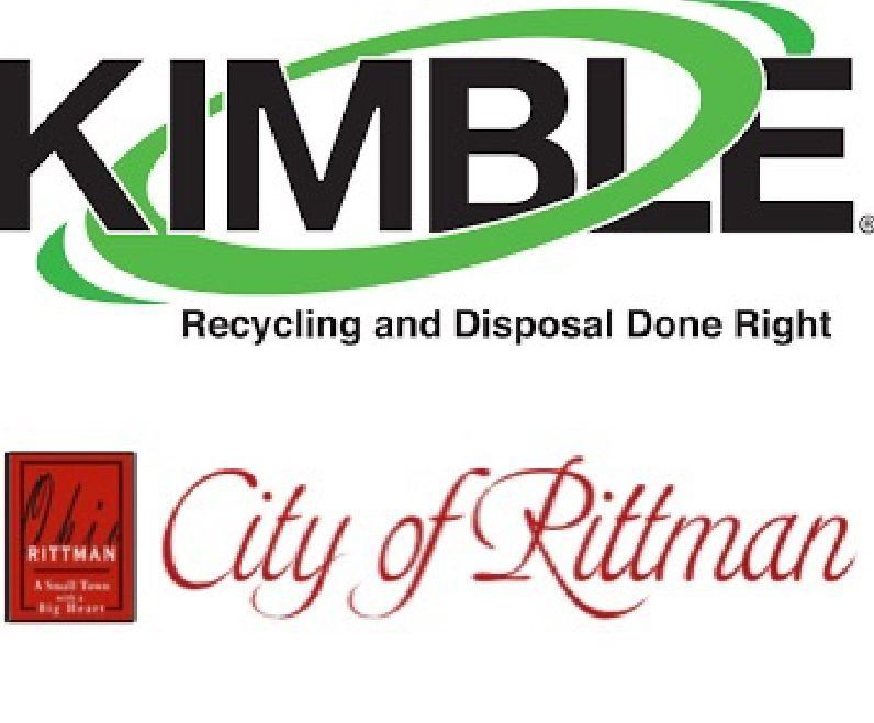 Kimble Logo and the City of Rittman Logo