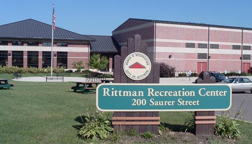 Rittman Recreation Center Large Brick Building