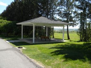 Committal Shelter at Rittman Cemetery