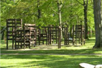 Wooden Playground at Ashton Hall Park